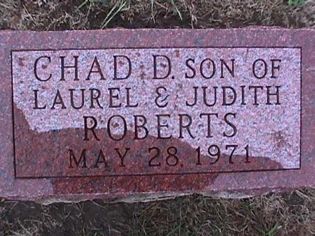 ROBERTS, CHAD - Washington County, Iowa   CHAD ROBERTS