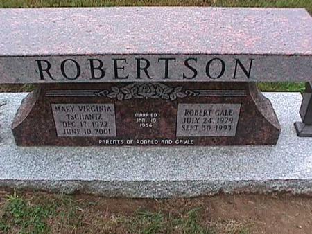 TSCHANTZ ROBERTSON, MARY - Washington County, Iowa | MARY TSCHANTZ ROBERTSON