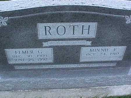 ROTH, ELMER - Washington County, Iowa | ELMER ROTH