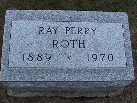ROTH, RAY PERRY - Washington County, Iowa | RAY PERRY ROTH