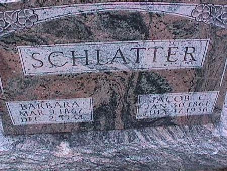 SCHLATTER, JACOB - Washington County, Iowa | JACOB SCHLATTER