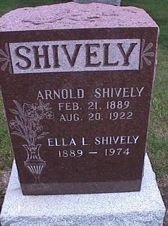 SHIVELY, ARNOLD - Washington County, Iowa | ARNOLD SHIVELY