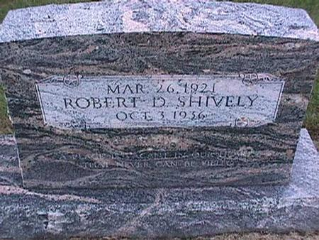 SHIVELY, ROBERT - Washington County, Iowa | ROBERT SHIVELY