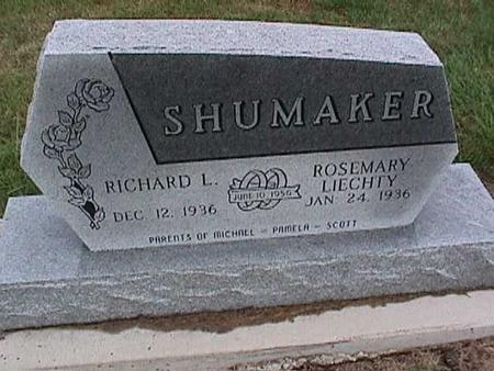 SHUMAKER, ROSEMARY - Washington County, Iowa | ROSEMARY SHUMAKER
