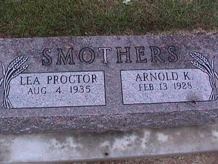SMOTHERS, ARNOLD - Washington County, Iowa | ARNOLD SMOTHERS