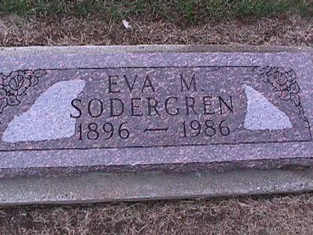 SODERGREN, EVA - Washington County, Iowa | EVA SODERGREN