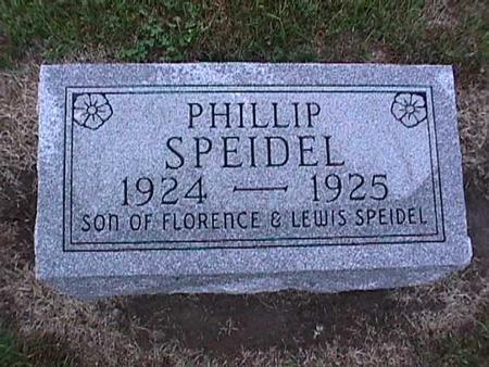 SPEIDEL, PHILLIP - Washington County, Iowa | PHILLIP SPEIDEL