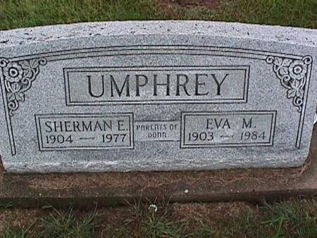 UMPHREY, EVA - Washington County, Iowa   EVA UMPHREY
