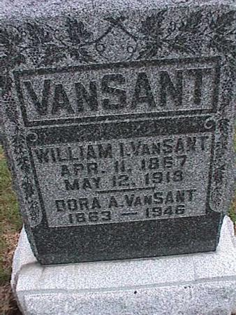 VANSANT, DORA - Washington County, Iowa | DORA VANSANT