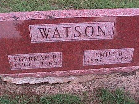 WATSON, SHERMAN - Washington County, Iowa | SHERMAN WATSON