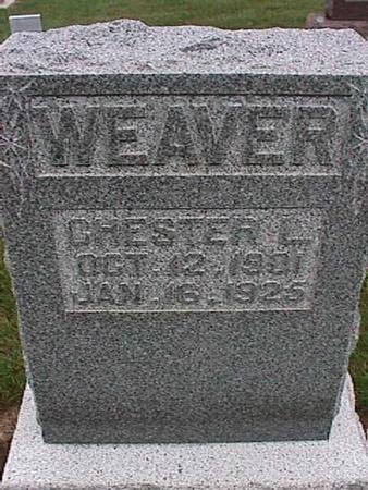 WEAVER, CHESTER - Washington County, Iowa | CHESTER WEAVER