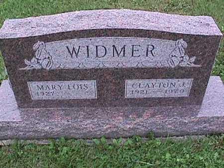 WIDMER, CLAYTON - Washington County, Iowa   CLAYTON WIDMER
