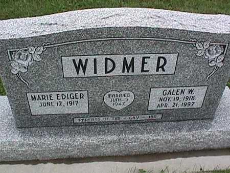 WIDMER, MARIE - Washington County, Iowa | MARIE WIDMER