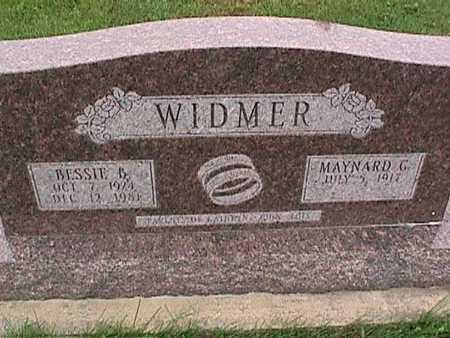 WIDMER, MAYNARD - Washington County, Iowa | MAYNARD WIDMER