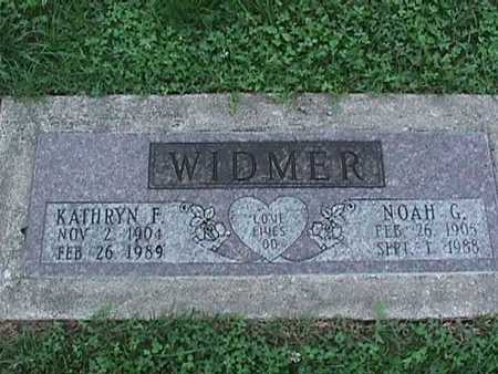 WIDMER, KATHRYN - Washington County, Iowa | KATHRYN WIDMER