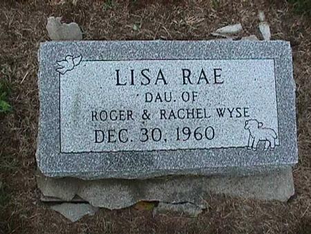 WYSE, LISA RAE - Washington County, Iowa | LISA RAE WYSE