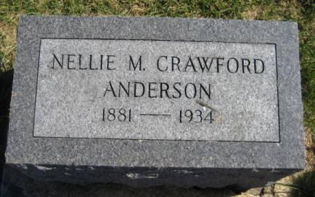 ANDERSON, NELLIE M. - Washington County, Iowa | NELLIE M. ANDERSON