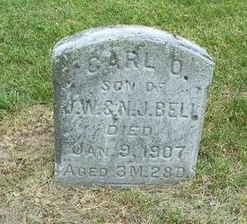 BELL, CARL O. - Washington County, Iowa | CARL O. BELL