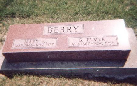 BERRY, S. ELMER - Washington County, Iowa | S. ELMER BERRY