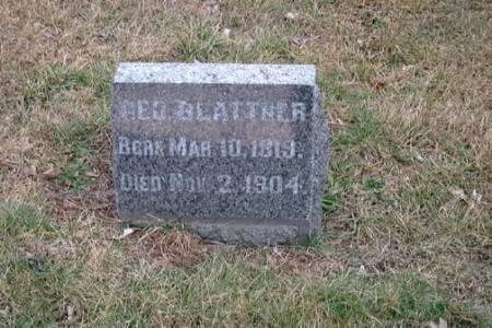 BLATTNER, GEORGE - Washington County, Iowa | GEORGE BLATTNER