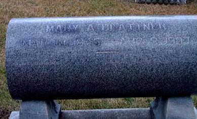 BLATTNER, MARY - Washington County, Iowa   MARY BLATTNER