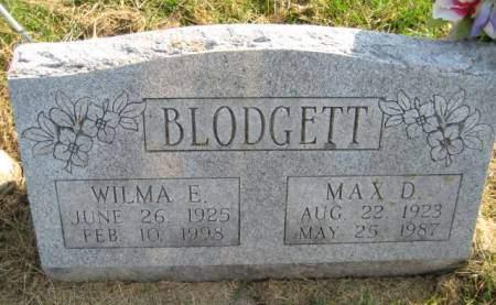 BLODGETT, MAX D. - Washington County, Iowa | MAX D. BLODGETT