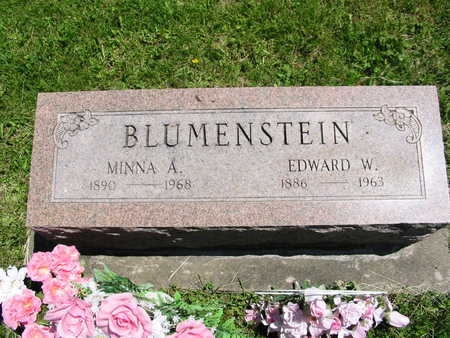 BLUMENSTEIN, MINNIE - Washington County, Iowa | MINNIE BLUMENSTEIN