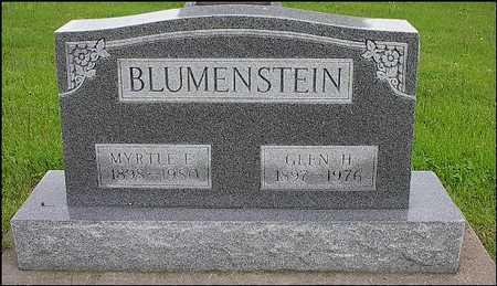 BLUMENSTEIN, MYRTLE EDNA - Washington County, Iowa | MYRTLE EDNA BLUMENSTEIN
