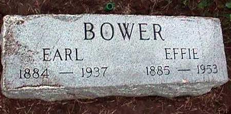 BOWER, L. EARL - Washington County, Iowa   L. EARL BOWER