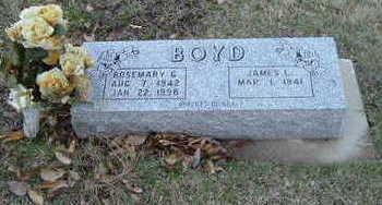 BOYD, ROSEMARY G. - Washington County, Iowa   ROSEMARY G. BOYD