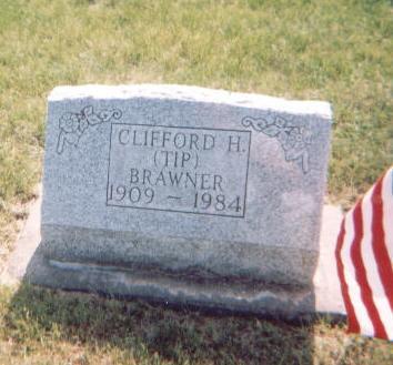 BRAWNER, CLIFFORD [TIP] - Washington County, Iowa   CLIFFORD [TIP] BRAWNER