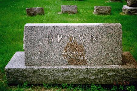 BROWN, JOHN - Washington County, Iowa | JOHN BROWN