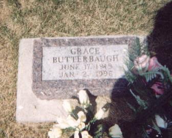 BUTTERBAUGH, GRACE - Washington County, Iowa | GRACE BUTTERBAUGH