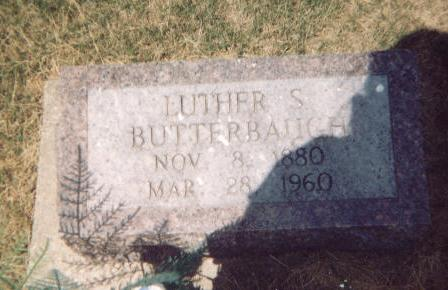 BUTTERBAUGH, LUTHER S. - Washington County, Iowa | LUTHER S. BUTTERBAUGH