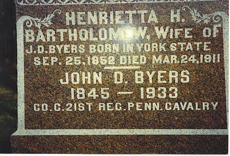 BYERS, JOHN - Washington County, Iowa | JOHN BYERS