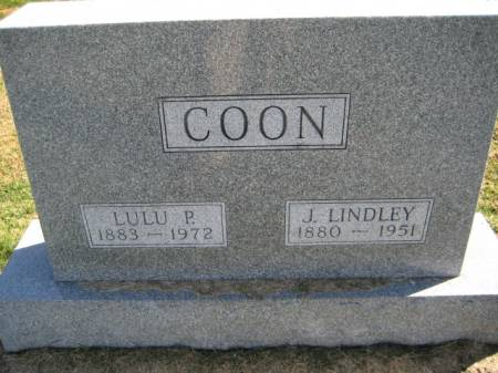 COON, LULU P. - Washington County, Iowa | LULU P. COON