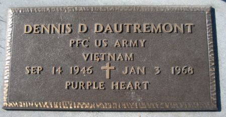 DAUTREMONT, DENNIS D. - Washington County, Iowa | DENNIS D. DAUTREMONT
