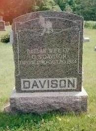 DAVISON, BEULAH - Washington County, Iowa | BEULAH DAVISON