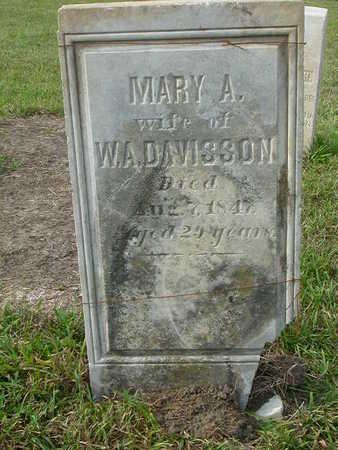 DAVISSON, MARY H. - Washington County, Iowa   MARY H. DAVISSON
