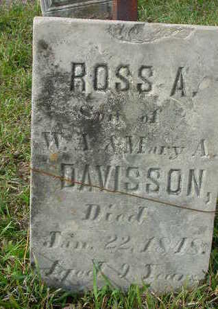 DAVISSON, ROSS A. - Washington County, Iowa | ROSS A. DAVISSON