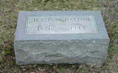 DAYTON, JESSIE N. - Washington County, Iowa | JESSIE N. DAYTON