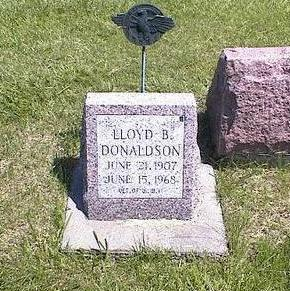 DONALDSON, LLOYD BURDELL - Washington County, Iowa | LLOYD BURDELL DONALDSON