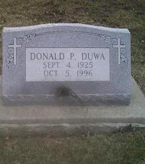 DUWA, DONALD - Washington County, Iowa | DONALD DUWA