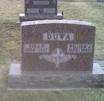 HALLER DUWA, VERA F. - Washington County, Iowa | VERA F. HALLER DUWA