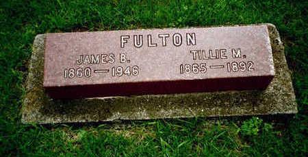 FULTON, JAMES B. - Washington County, Iowa | JAMES B. FULTON