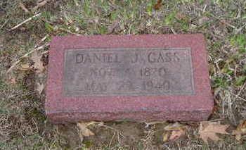 GASS, DANIEL J. - Washington County, Iowa | DANIEL J. GASS