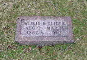 GLIDER, WILLIS E - Washington County, Iowa | WILLIS E GLIDER