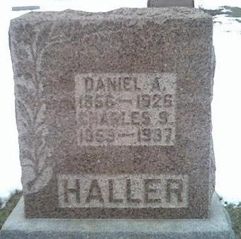 HALLER, DANIEL A. - Washington County, Iowa | DANIEL A. HALLER