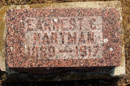 HARTMAN, EARNEST E - Washington County, Iowa | EARNEST E HARTMAN