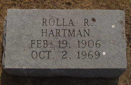 HARTMAN, ROLLA R - Washington County, Iowa | ROLLA R HARTMAN